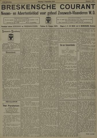 Breskensche Courant 1935-09-03