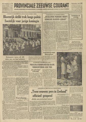 Provinciale Zeeuwse Courant 1958-05-01
