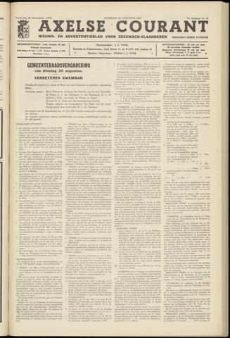 Axelsche Courant 1963-08-24