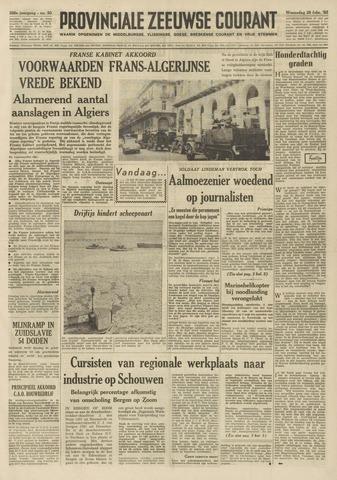 Provinciale Zeeuwse Courant 1962-02-28
