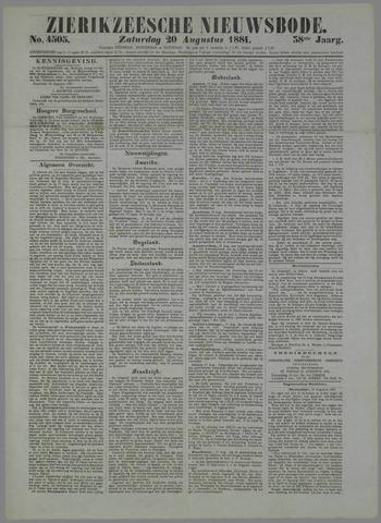 Zierikzeesche Nieuwsbode 1881-08-20