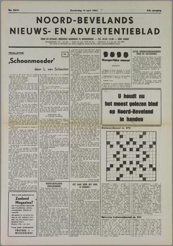 Noord-Bevelands Nieuws- en advertentieblad 1980-04-10