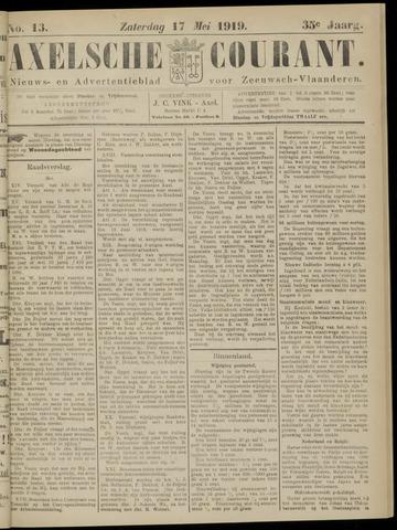 Axelsche Courant 1919-05-17