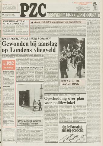 Provinciale Zeeuwse Courant 1984-04-21