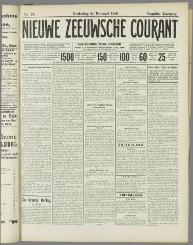 Nieuwe Zeeuwsche Courant 1916-02-24