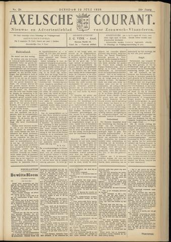 Axelsche Courant 1938-07-12
