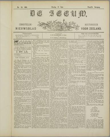 De Zeeuw. Christelijk-historisch nieuwsblad voor Zeeland 1898-06-21