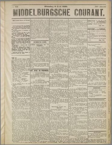 Middelburgsche Courant 1922-07-04