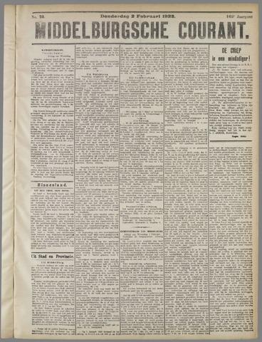 Middelburgsche Courant 1922-02-02
