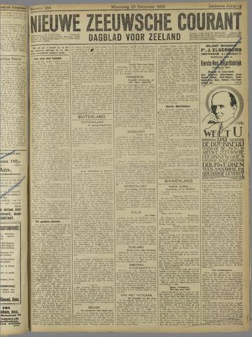 Nieuwe Zeeuwsche Courant 1920-12-29