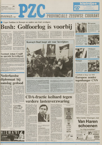 Provinciale Zeeuwse Courant 1991-02-28