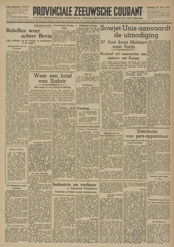 Provinciale Zeeuwse Courant 1947-06-24