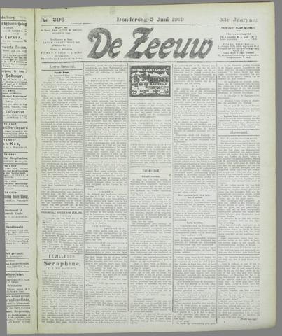 De Zeeuw. Christelijk-historisch nieuwsblad voor Zeeland 1919-06-05
