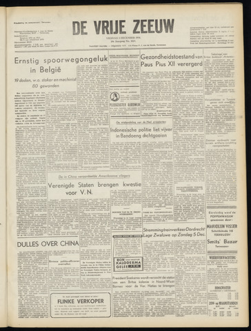 de Vrije Zeeuw 1954-12-03
