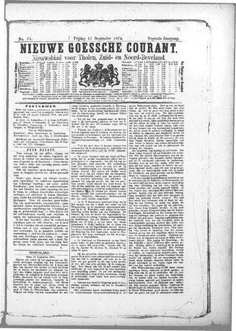 Nieuwe Goessche Courant 1874-09-11