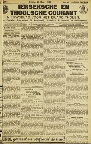 Ierseksche en Thoolsche Courant 1929-03-29