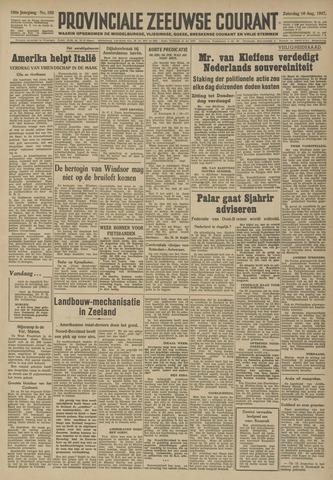 Provinciale Zeeuwse Courant 1947-08-16
