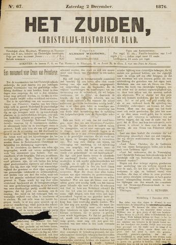 Het Zuiden, Christelijk-historisch blad 1876-12-02