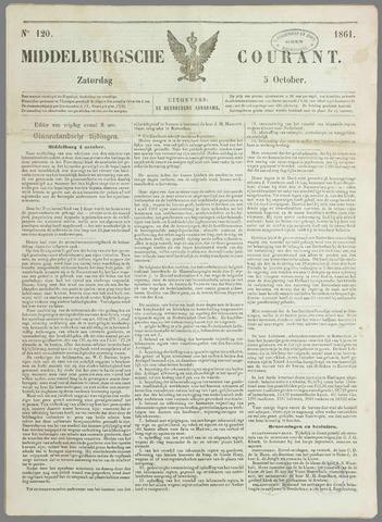 Middelburgsche Courant 1861-10-05