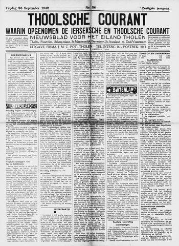 Ierseksche en Thoolsche Courant 1942-09-25