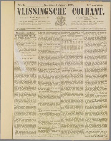 Vlissingse Courant 1896