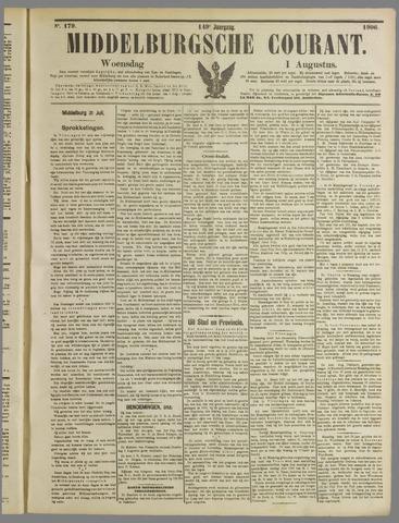 Middelburgsche Courant 1906-08-01