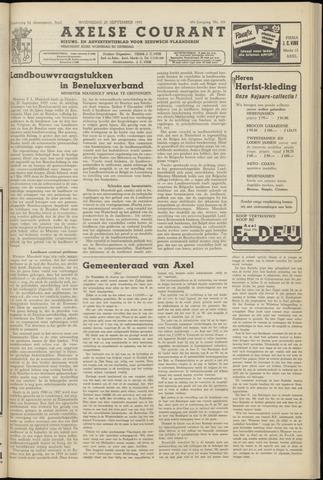Axelsche Courant 1955-09-28