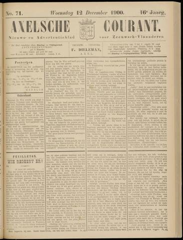 Axelsche Courant 1900-12-12
