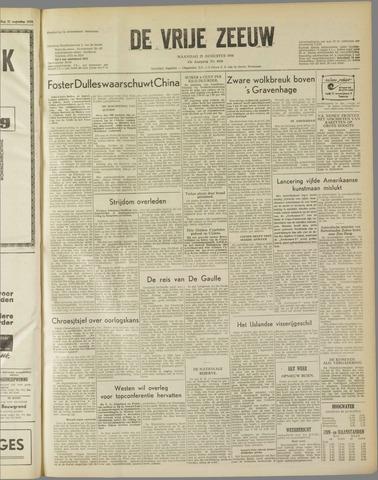 de Vrije Zeeuw 1958-08-25