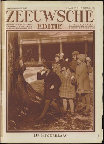 Ons Zeeland / Zeeuwsche editie 1931-02-27
