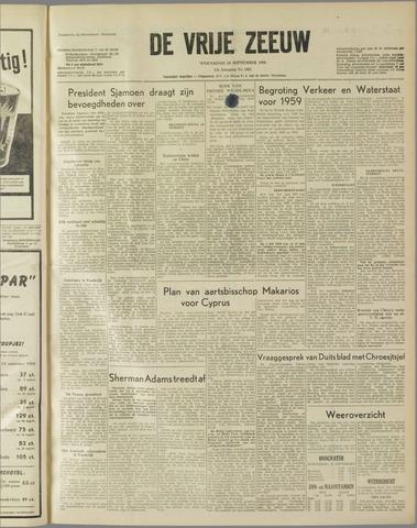 de Vrije Zeeuw 1958-09-24