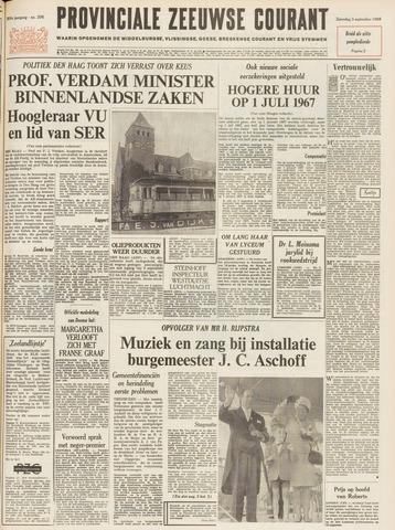 Provinciale Zeeuwse Courant 1966-09-03