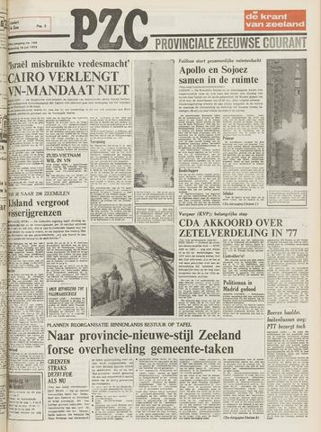 Provinciale Zeeuwse Courant 1975-07-16