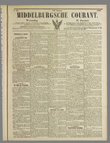 Middelburgsche Courant 1906-01-31