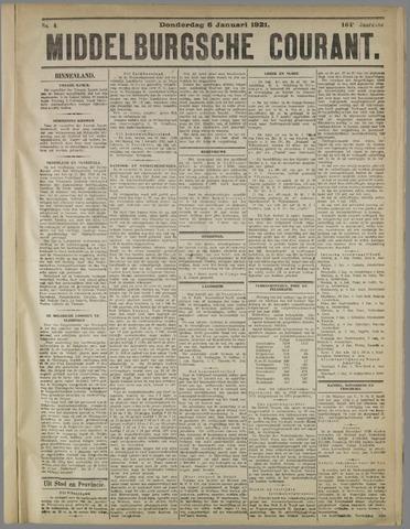 Middelburgsche Courant 1921-01-06