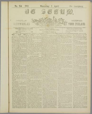 De Zeeuw. Christelijk-historisch nieuwsblad voor Zeeland 1912-04-01