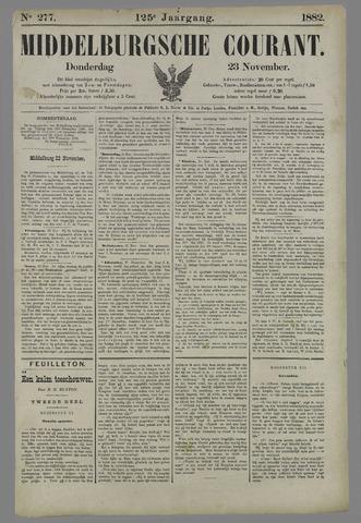 Middelburgsche Courant 1882-11-23