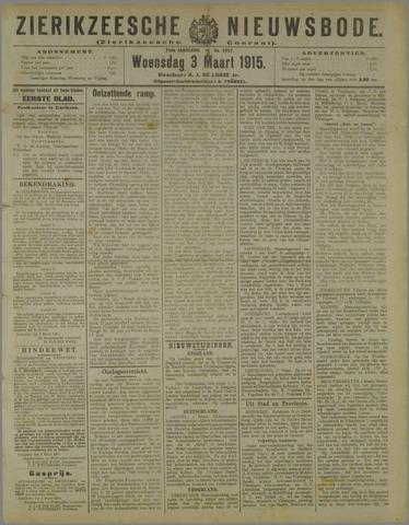 Zierikzeesche Nieuwsbode 1915-03-03