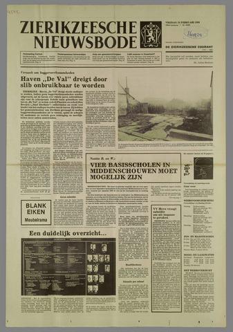 Zierikzeesche Nieuwsbode 1984-02-24