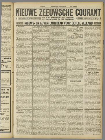 Nieuwe Zeeuwsche Courant 1927-02-24