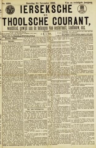 Ierseksche en Thoolsche Courant 1906-11-24