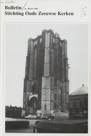 Bulletin Stichting Oude Zeeuwse kerken 1988