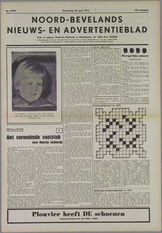 Noord-Bevelands Nieuws- en advertentieblad 1972-04-20