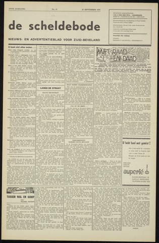 Scheldebode 1970-09-25