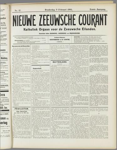Nieuwe Zeeuwsche Courant 1905-02-09