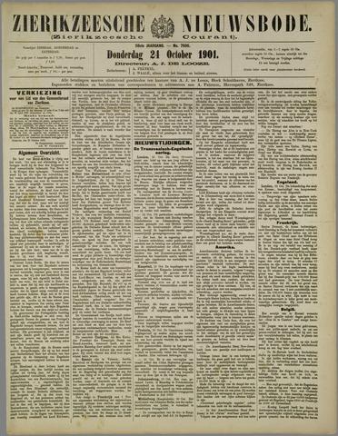 Zierikzeesche Nieuwsbode 1901-10-24