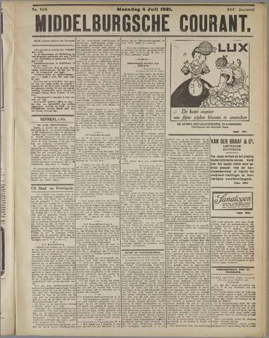 Middelburgsche Courant 1921-07-04