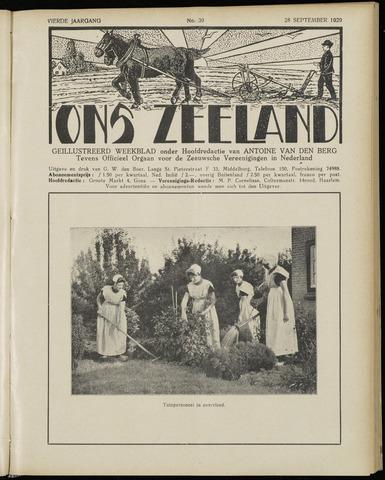 Ons Zeeland / Zeeuwsche editie 1929-09-28
