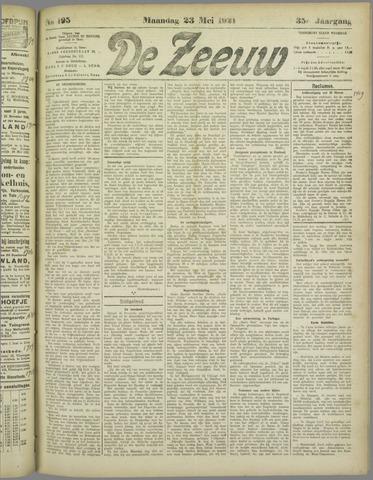 De Zeeuw. Christelijk-historisch nieuwsblad voor Zeeland 1921-05-23