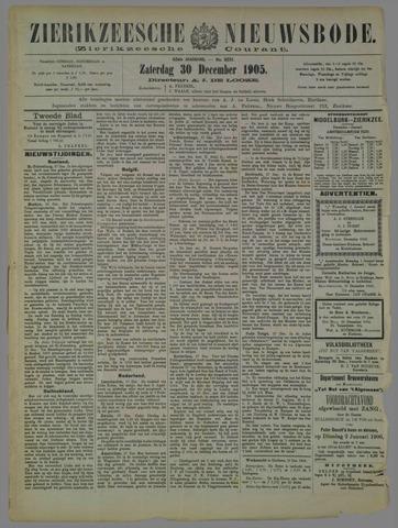 Zierikzeesche Nieuwsbode 1905-12-30